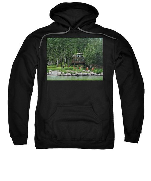 The Old Lawg Caybun On Lake Joe Sweatshirt