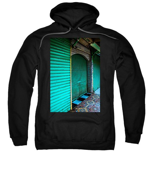 Marrakech Aqua Sweatshirt