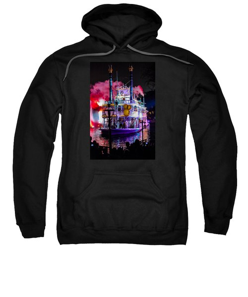 The Mark Twain Disneyland Steamboat  Sweatshirt