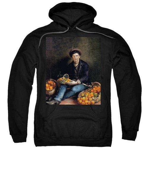 The Seller Of Oranges Sweatshirt