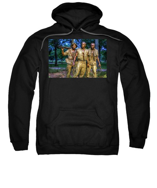 The Three Soldiers Facing The Wall Sweatshirt