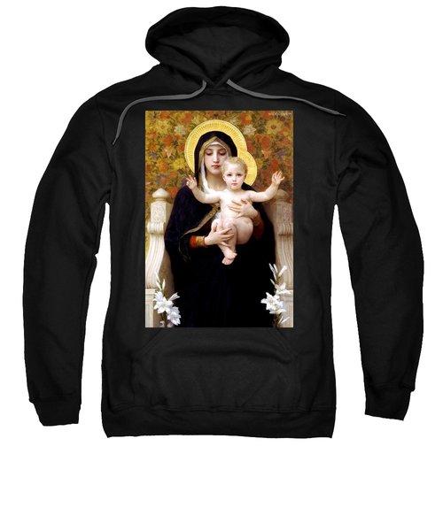 The Virgin Of The Lilies Sweatshirt