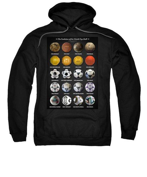 The World Cup Balls Sweatshirt