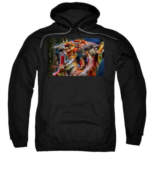 Their Spirit Is Among Us - Nanticoke Powwow Delaware Sweatshirt