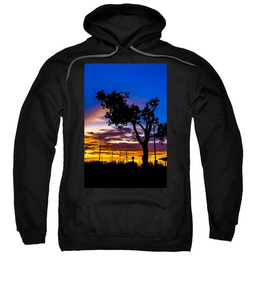 There Is Something Magical About The Sky Sweatshirt