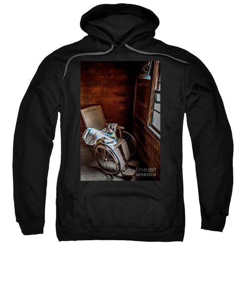 Wheelchair With A View Sweatshirt