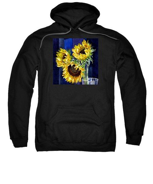 Three Sunny Flowers Sweatshirt