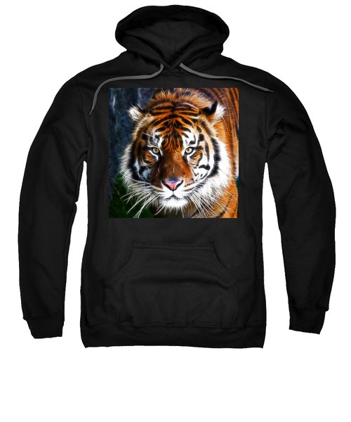 Tiger Close Up Sweatshirt