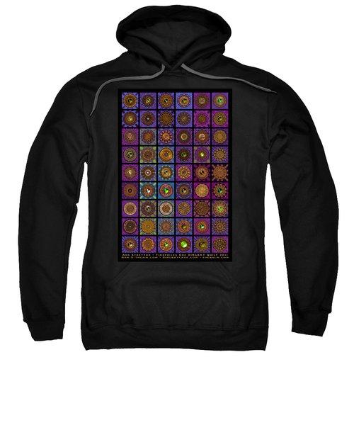 Timepieces One Dingbat Quilt Sweatshirt