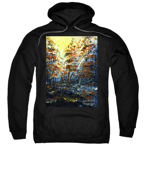 Tim's Autumn Trees Sweatshirt