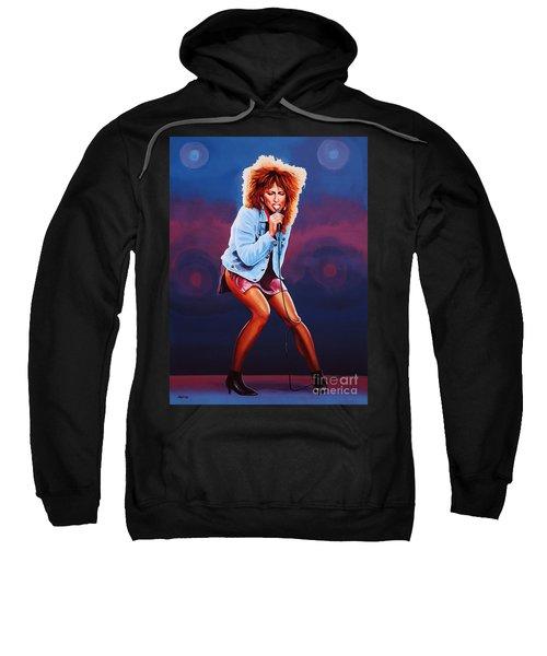 Tina Turner Sweatshirt by Paul Meijering