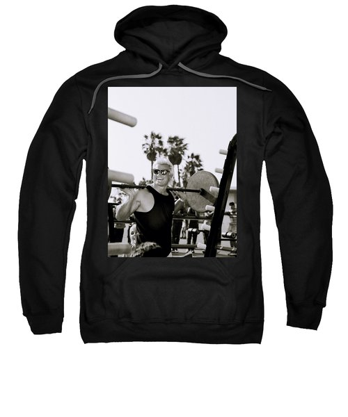 Tom Platz In Los Angeles Sweatshirt