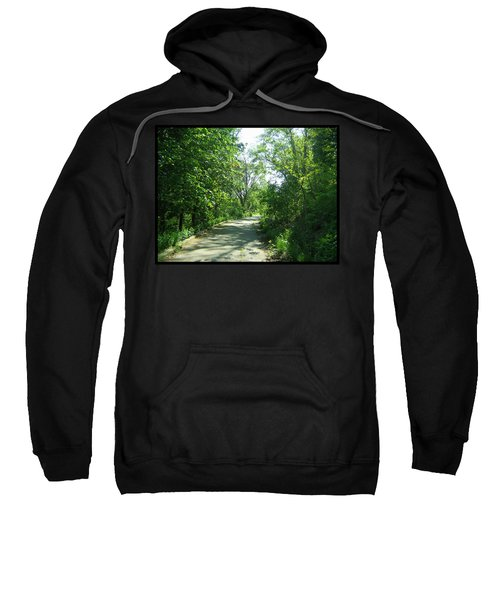 Sweatshirt featuring the photograph Toronto Trails by Shawn Dall