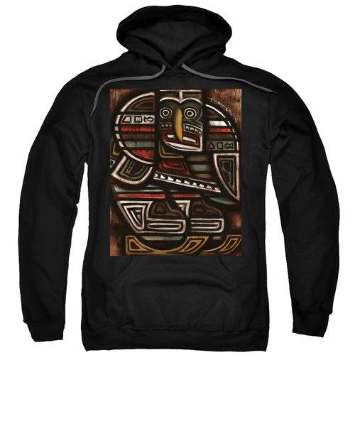 Tommervik Totem Hockey Player Art Print Sweatshirt