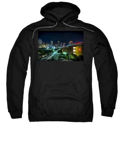 Toyota Center And Downtown Houston Sweatshirt