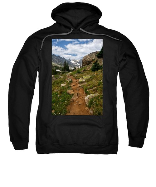 Trail To Lake Isabelle Sweatshirt