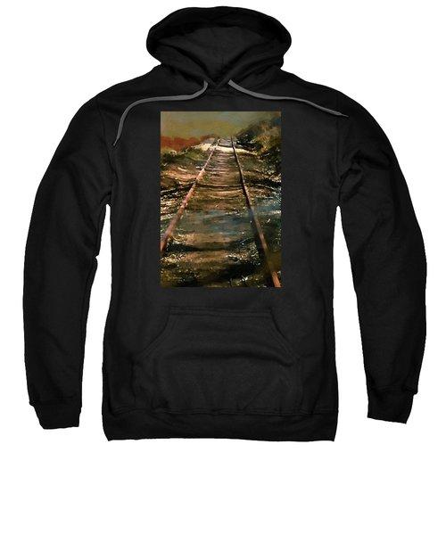 Train Track To Hell Sweatshirt