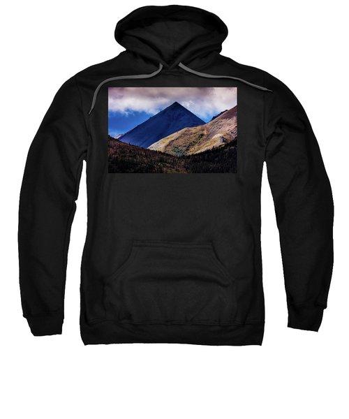 Triangular Pyramid Mountain, Denali Sweatshirt
