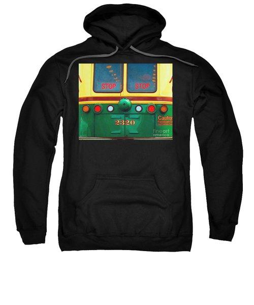 Trolley Car - Digital Art Sweatshirt