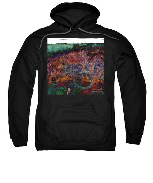 twisted edge III - right hand tryptic Sweatshirt