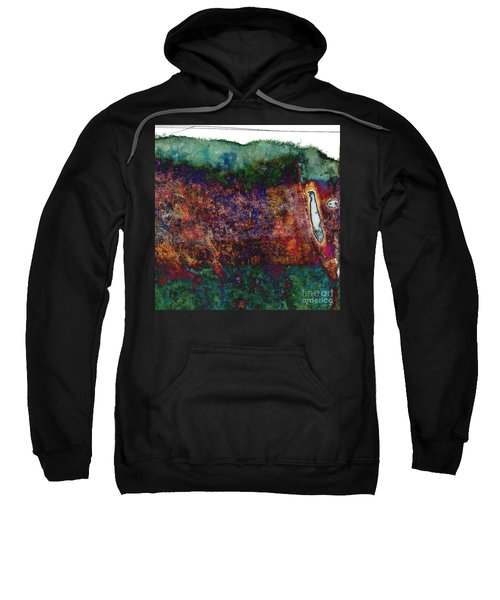 twisted edge I - left hand tryptic Sweatshirt