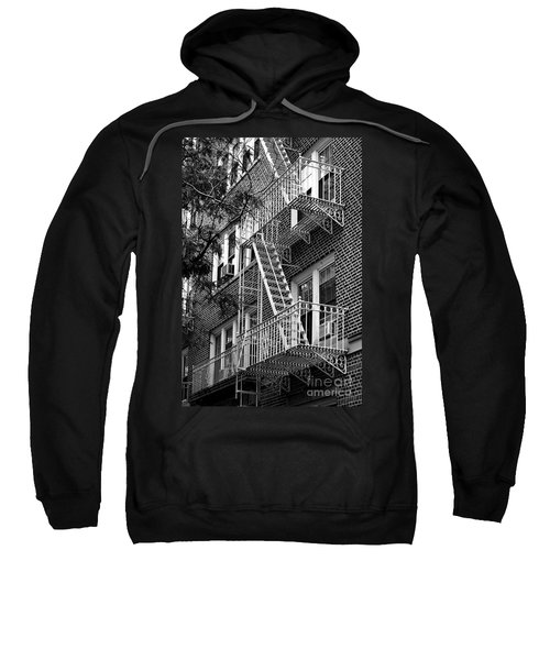 Typical Building Of Brooklyn Heights - Brooklyn - New York City Sweatshirt