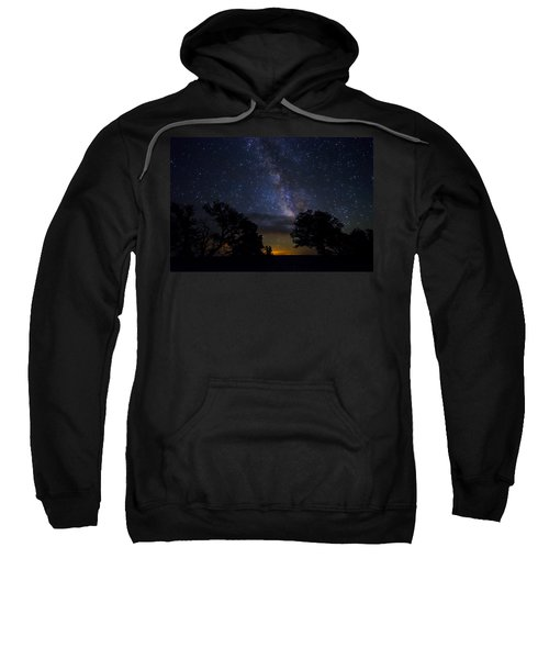 Under The Stars At The Grand Canyon  Sweatshirt