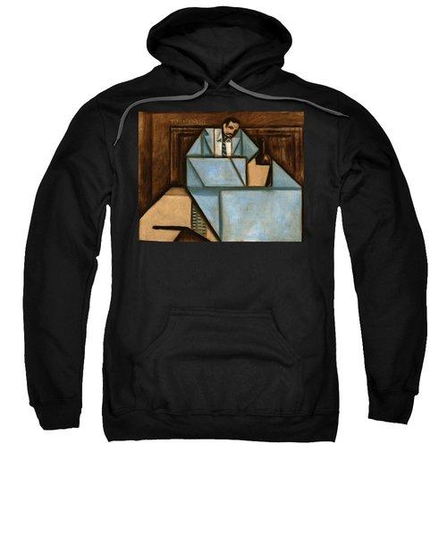 unhappy hour Art print Sweatshirt