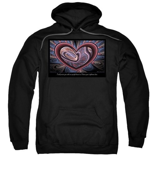 Upright Heart Sweatshirt