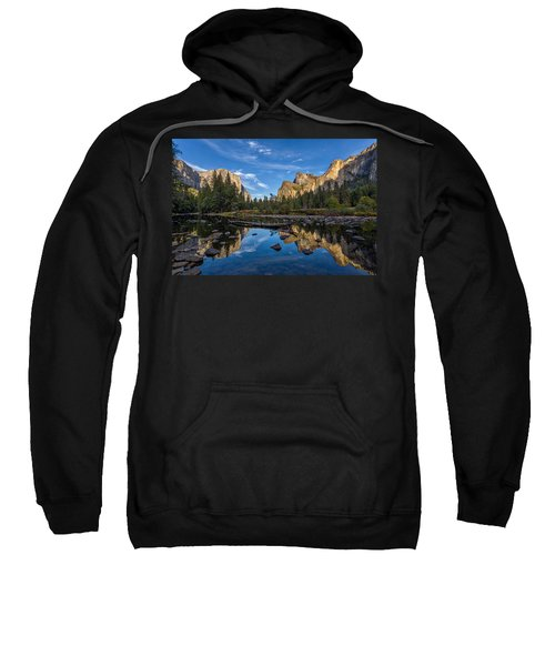 Valley View I Sweatshirt by Peter Tellone