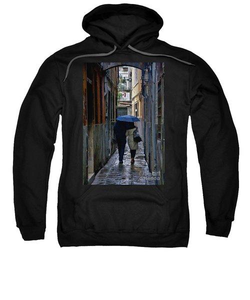 Venice In The Rain Sweatshirt