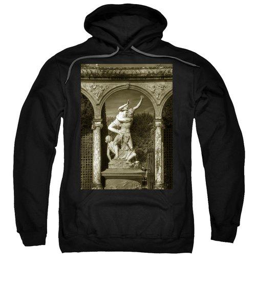 Versailles Colonnade And Sculpture Sweatshirt