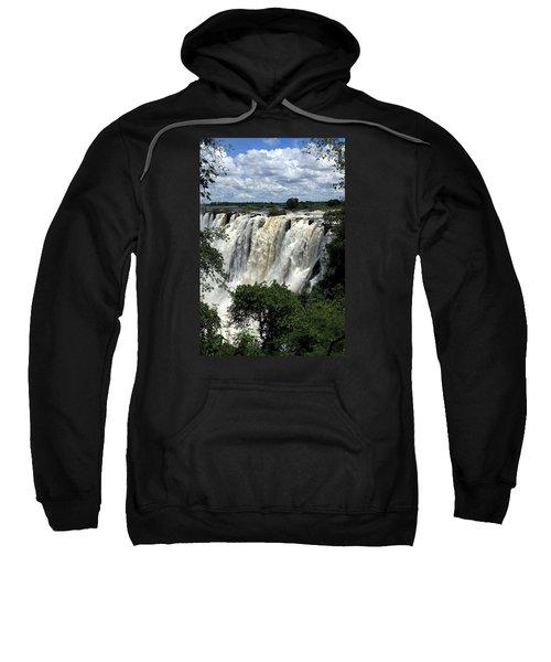 Victoria Falls On The Zambezi River Sweatshirt
