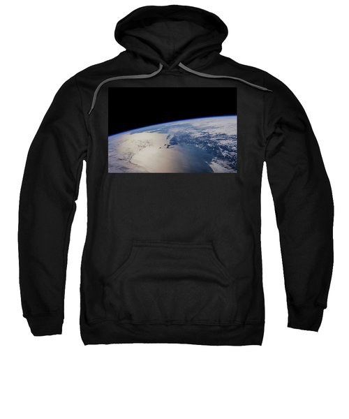 View Of Planet Earth From Space Showing Sweatshirt