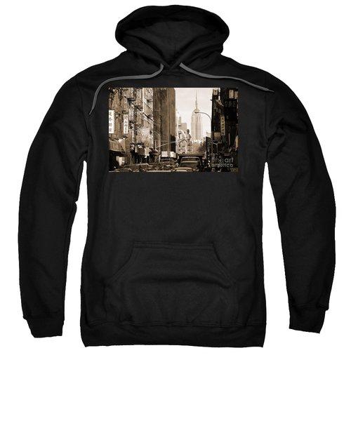 Vintage Chinatown And Empire State Sweatshirt