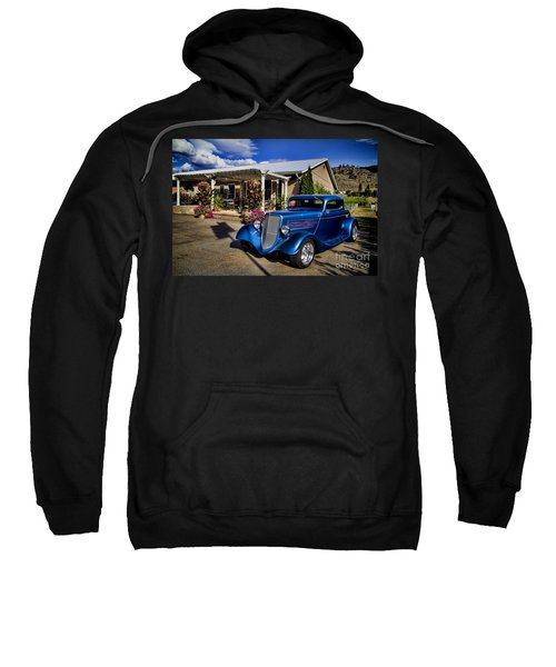 Vintage Ford Coupe At Oliver Twist Winery Sweatshirt