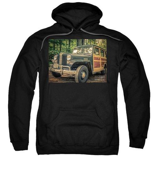 Vintage Jeep Station Wagon Sweatshirt