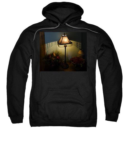 Vintage Still Life And Lamp Sweatshirt