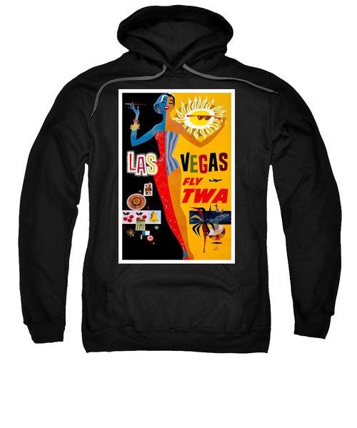 Vintage Travel Poster - Las Vegas Sweatshirt