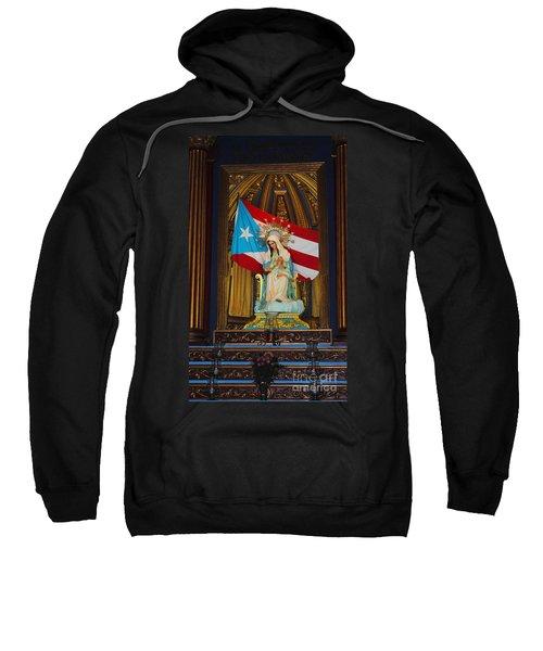 Virgin Mary In Church Sweatshirt