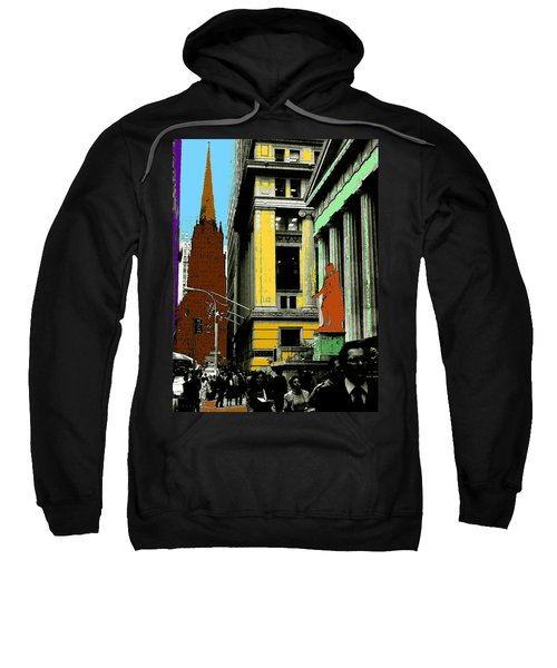 New York Pop Art 99 - Color Illustration Sweatshirt