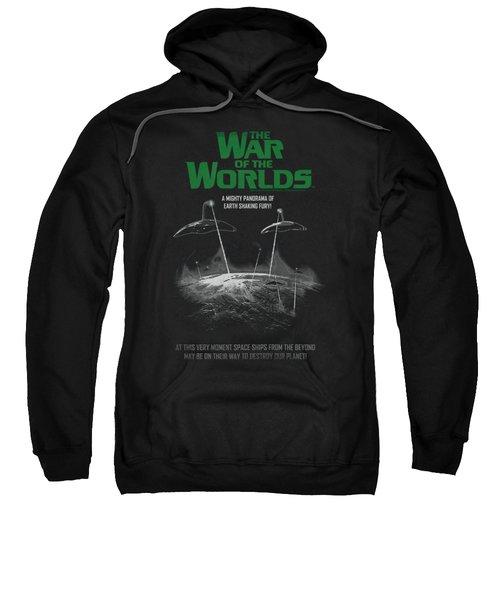 War Of The Worlds - Attack Poster Sweatshirt