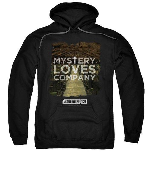 Warehouse 13 - Mystery Loves Sweatshirt