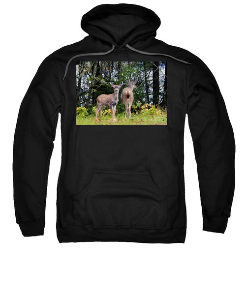 Watching Out For Mom Sweatshirt