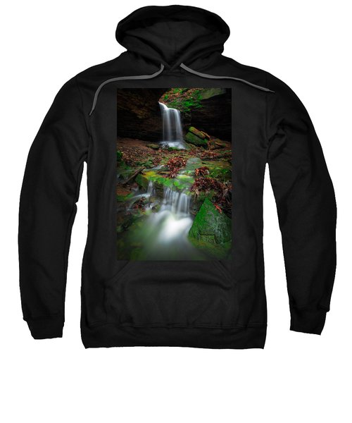 Frankfort Mineral Springs Waterfall  Sweatshirt