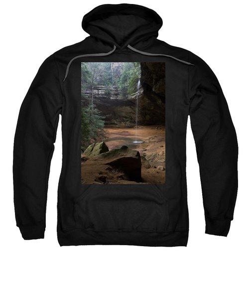Waterfall At Ash Cave Sweatshirt