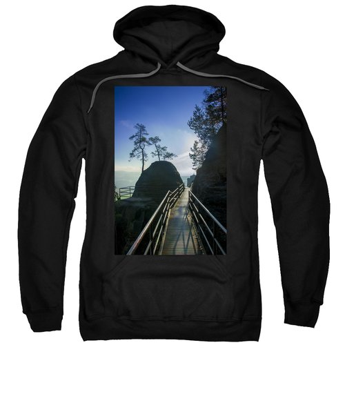 Way Into The Light On Neurathen Castle Sweatshirt