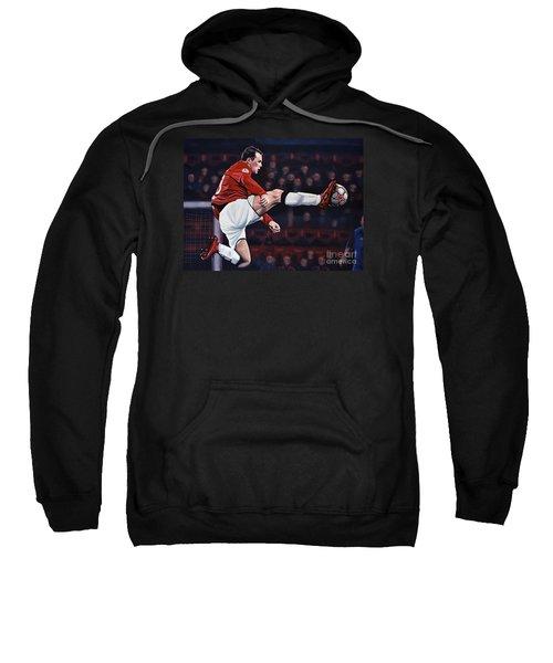 Wayne Rooney Sweatshirt by Paul Meijering