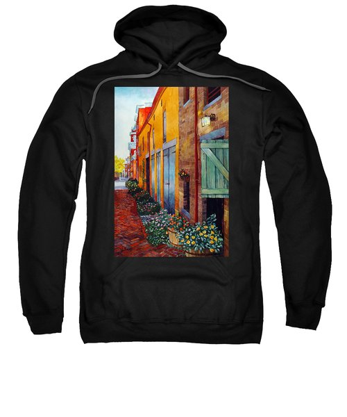 Weathered Door Rustic Path Sweatshirt