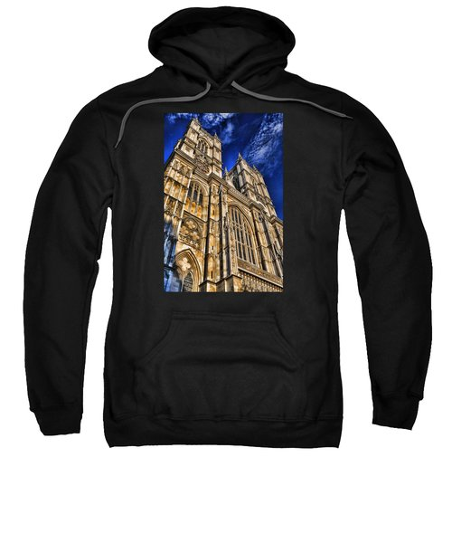 Westminster Abbey West Front Sweatshirt by Stephen Stookey